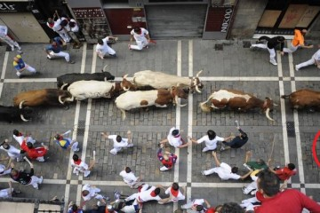 san fermines - be on line